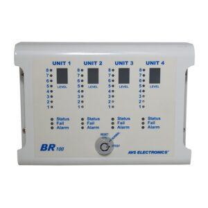 avs_BR100 - Fémház 4 db AVS LCD W beépítéséhez